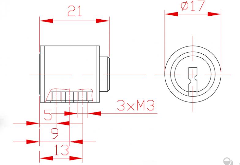 Sicherheitsmechanismus L 21